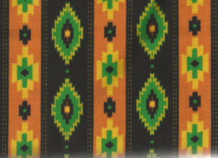 Cooling Forehead Pads - Aztec Stripe