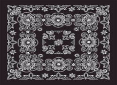 Classic Bandana Deluxe Black Paisley (27x27-inch NON-COOLING)