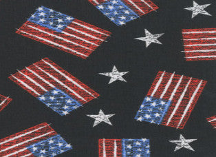 Flags and Stars Cooling Neck Wrap