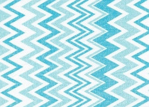 Blue Chevron Cooling Neck Wrap