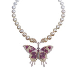 Ombré Alloy Butterfly