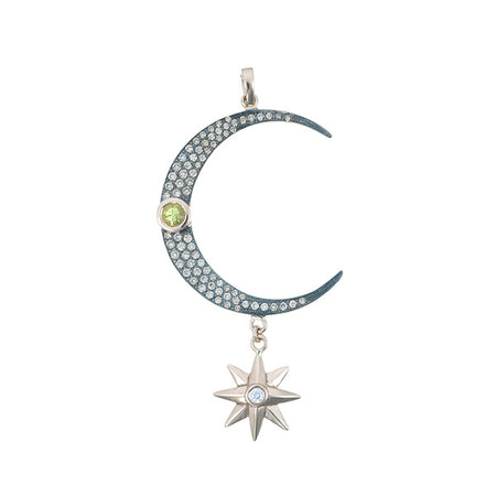 Hala Moon & Star Pendant