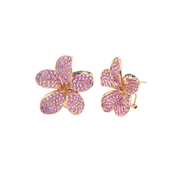 Laelia Orchid Earring