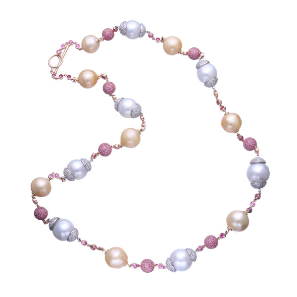 Playful Pearl Necklace
