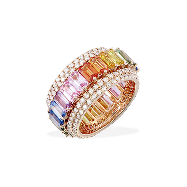 Rotating Rainbow Band