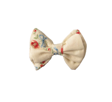 Bow and Tulip Hair Bow