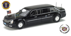 2009 CADILLAC DTS PRESIDENTIAL LIMO OBAMA 1/43