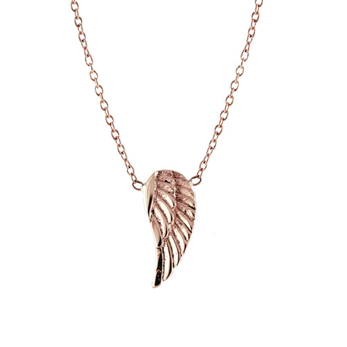14K WING NECKLACE