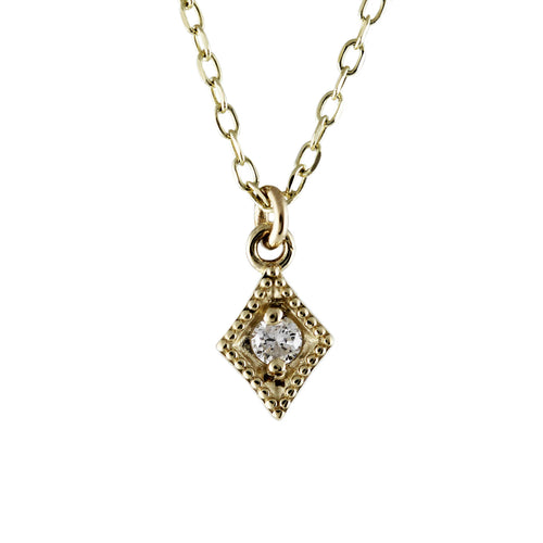 14K DAWN NECKLACE