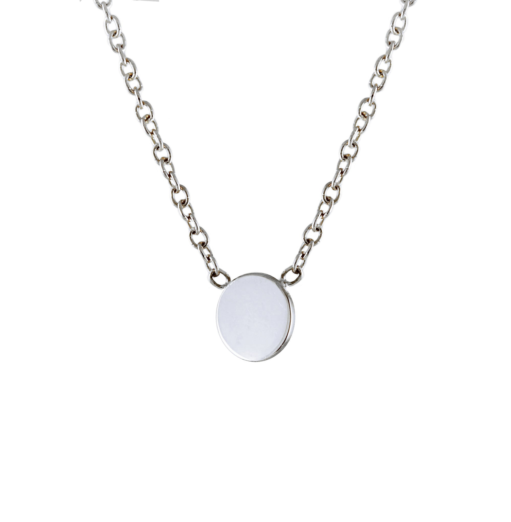 disk lumo products necklace white