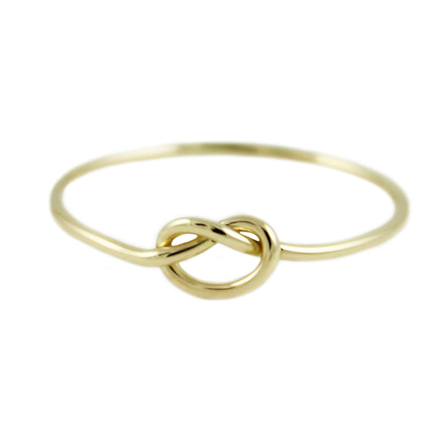 14K GOLD KNOT