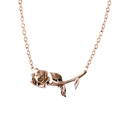 14K JULIET ROSE NECKLACE