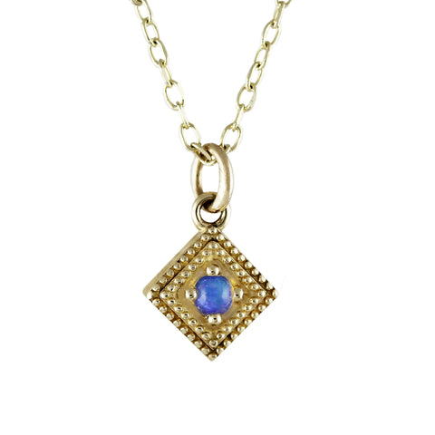 14K DIAMOND PAVE OPEN EVIL EYE WITH TURQUOISE NECKLACE