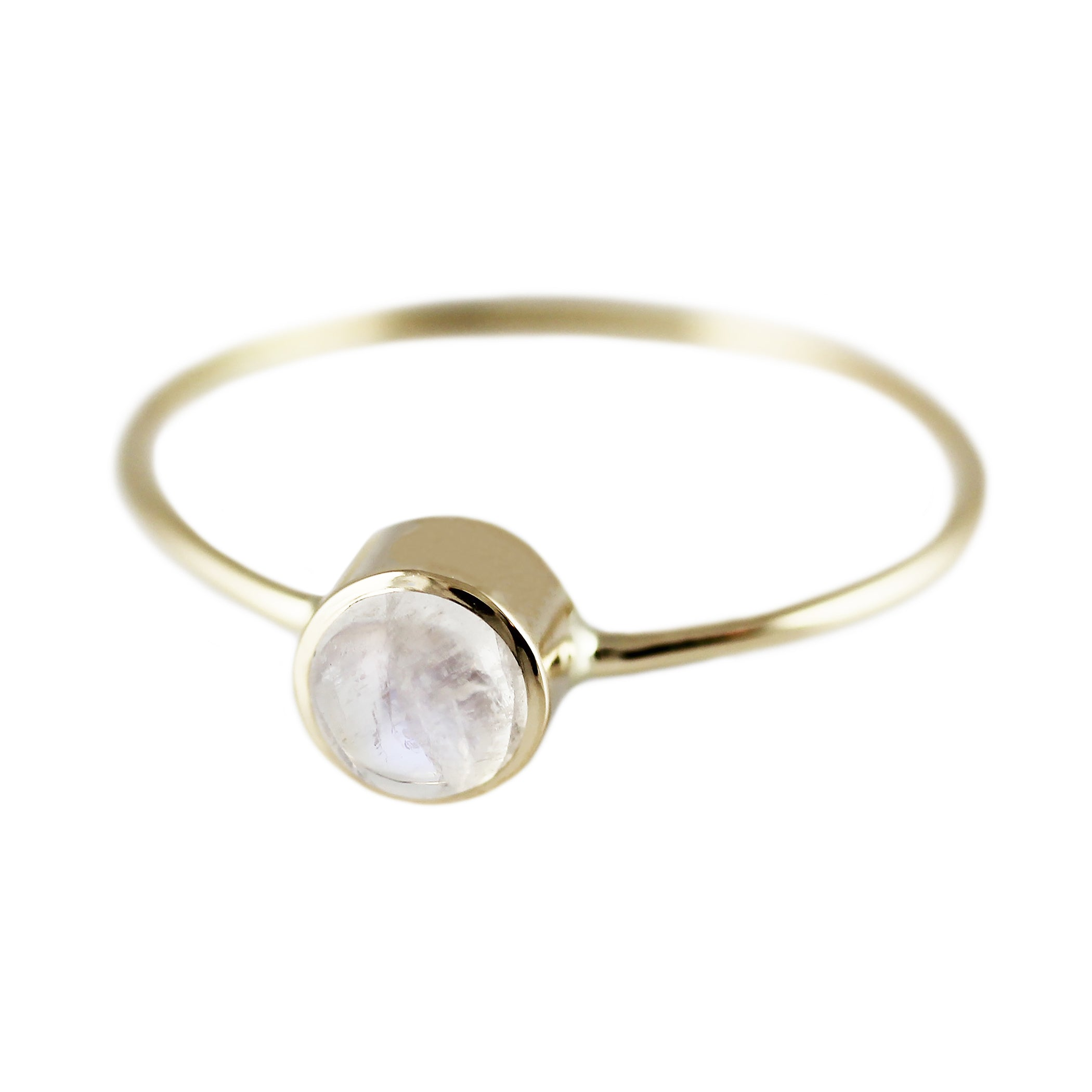 studio forged sterling yellow cedar and gold silver ring moonstone rings white