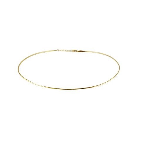 14K SOLID ROUND BEAD NECKLACE