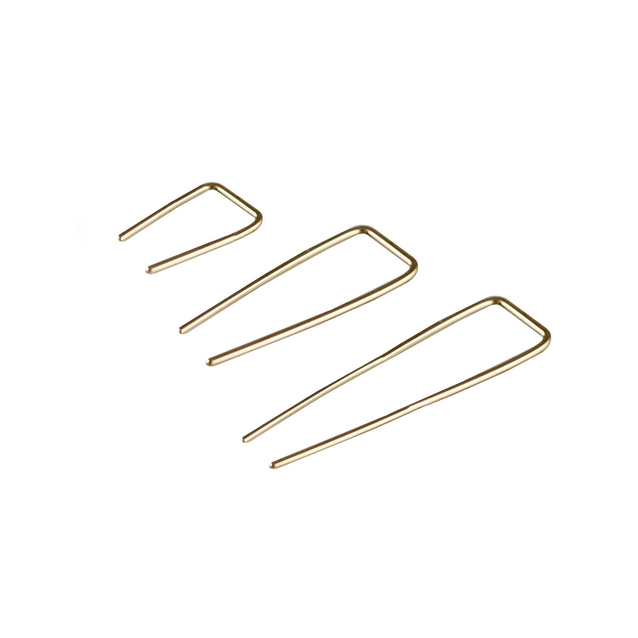 14K RECTANGLE WIRE HOOK EARRINGS