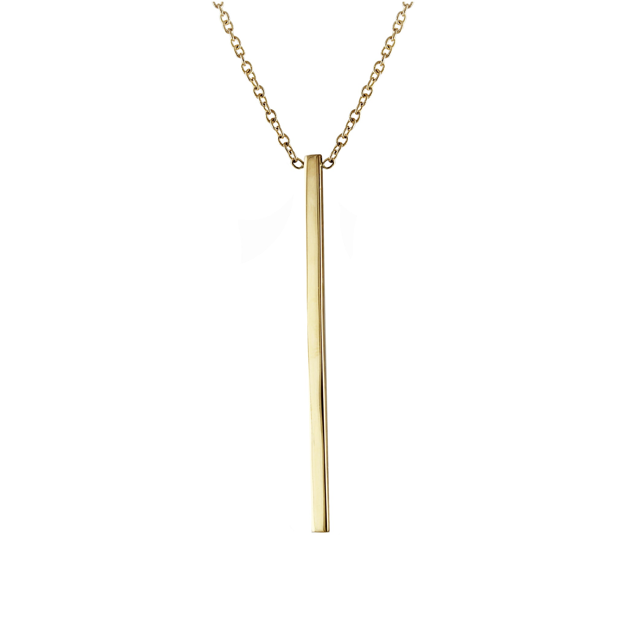 solid necklace r front gold dv bar rose pendant products