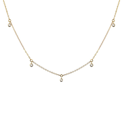 AVA OPAL NECKLACE