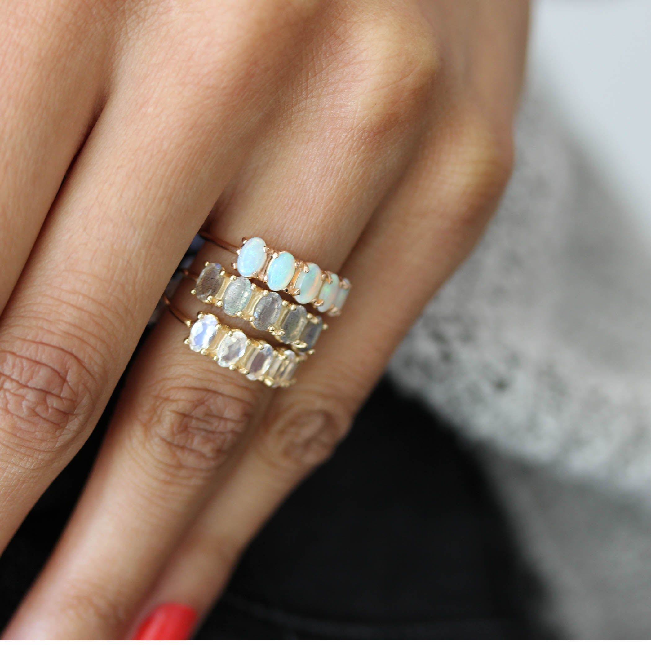 wb products thea ring moonstone lumo rings