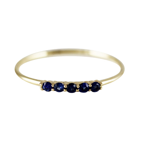 5 PRONG SAPPHIRE RING