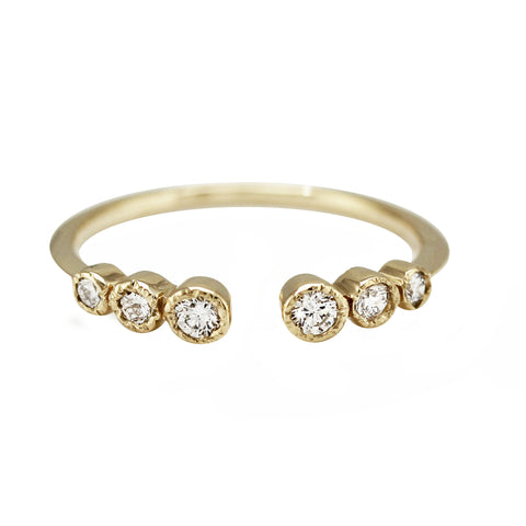DIAMOND MINI PEAK RING