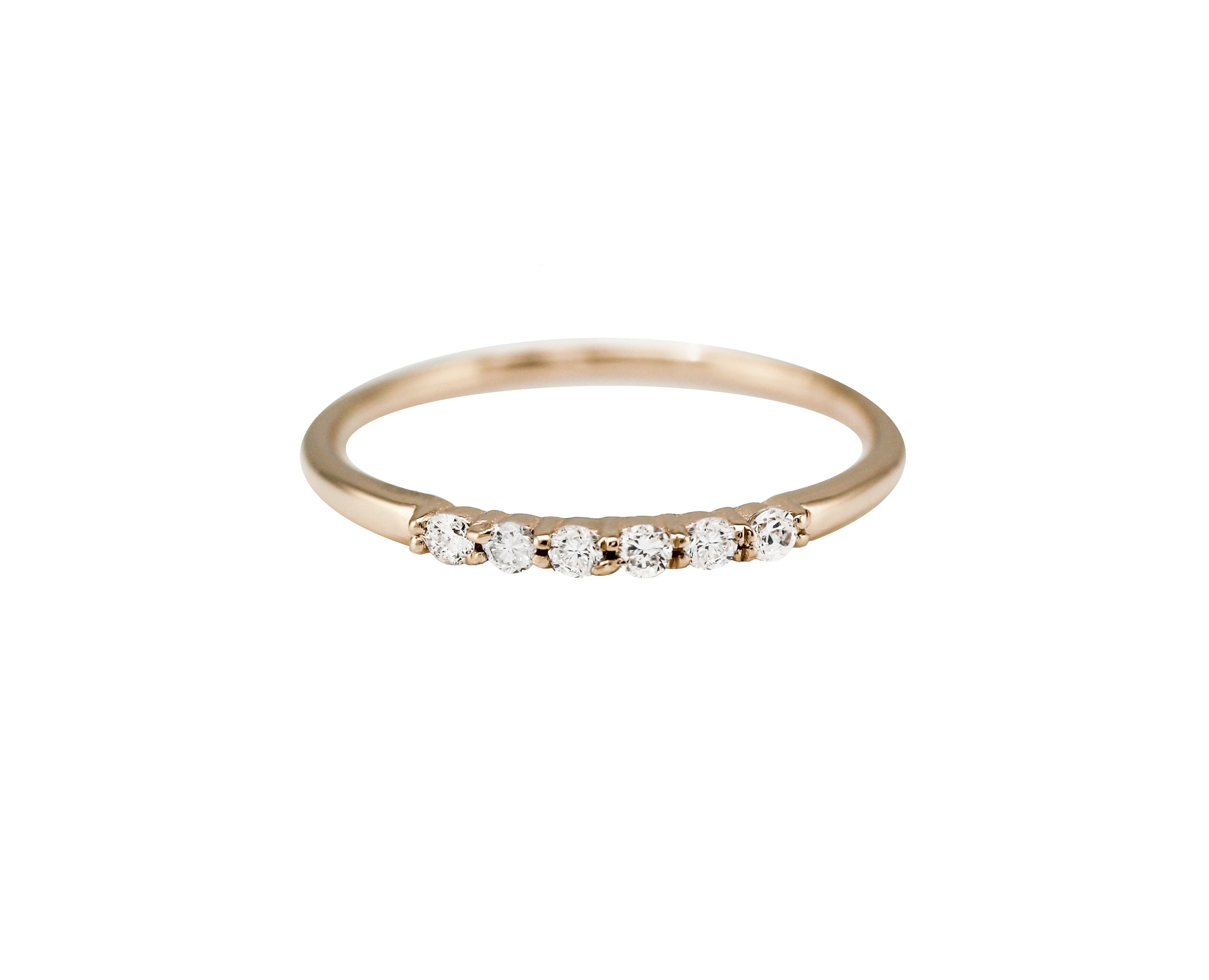 6 PRONG DIAMOND BAND