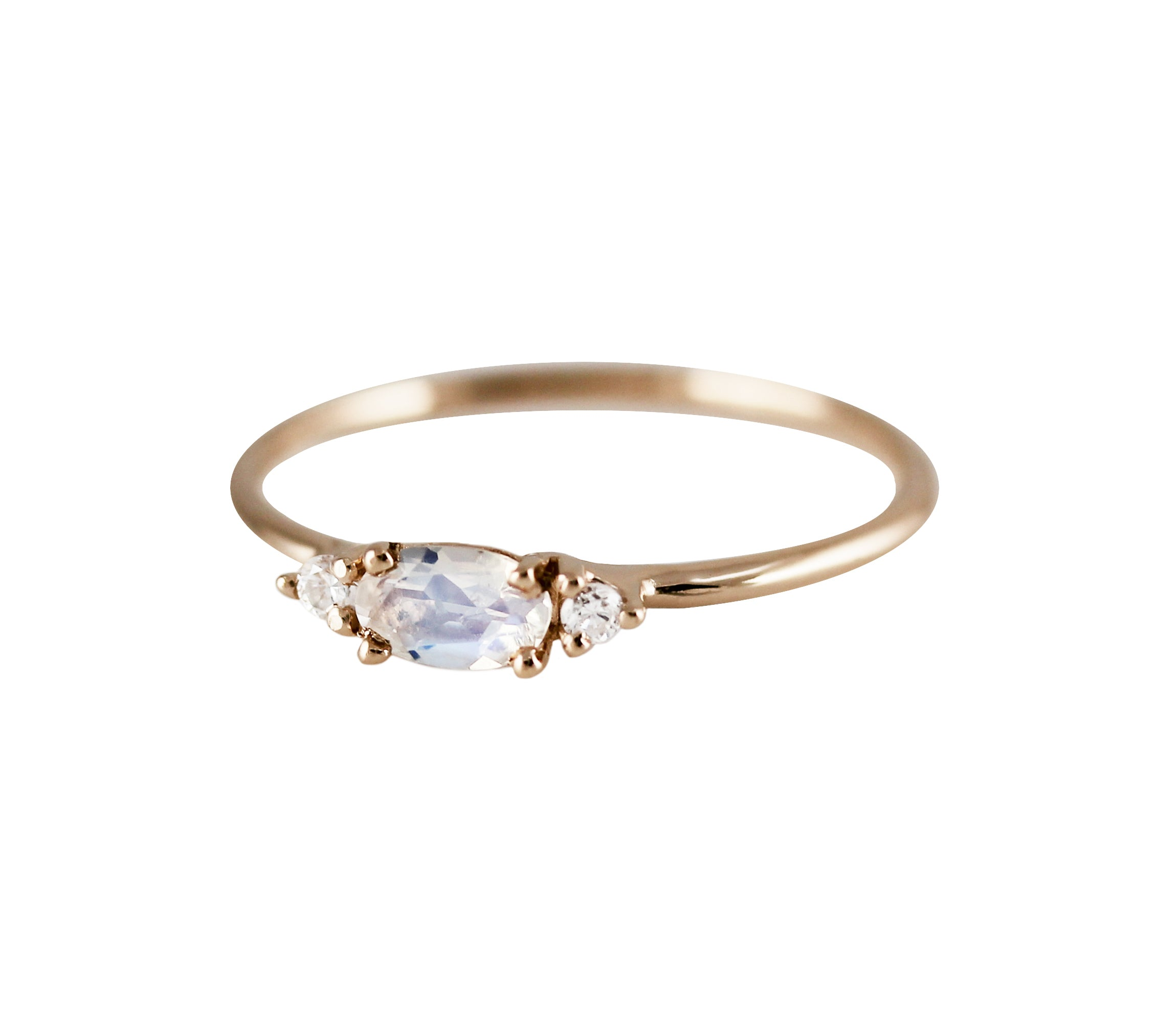 moonstone gold gaby silver sterling set pin in atelier by rings citrine opal