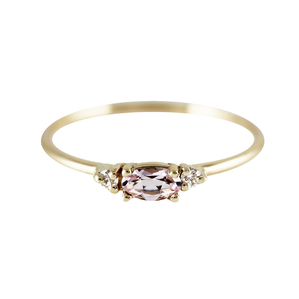 AUGUSTA MORGANITE RING