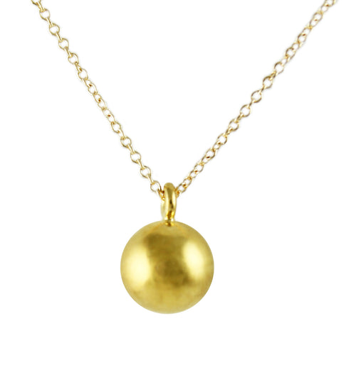 BALL DANGLE NECKLACE