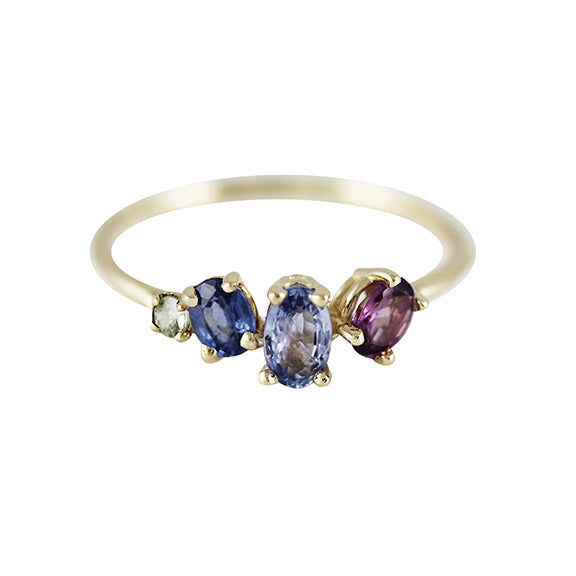 BERRY SAPPHIRE RING