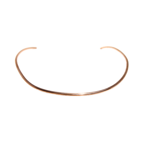 BRONZE CHOKER NECKLACE