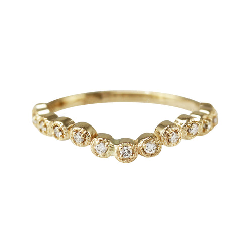 CURVED VICTORIA DIAMOND BAND
