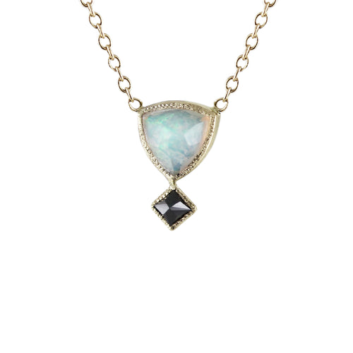 DAHLIA OPAL NECKLACE