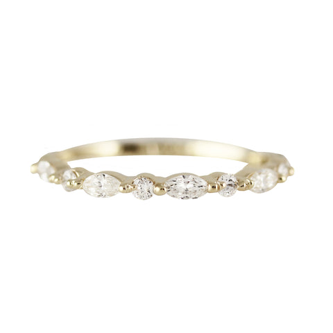 FAIRYTALE DIAMOND PAVE BAND