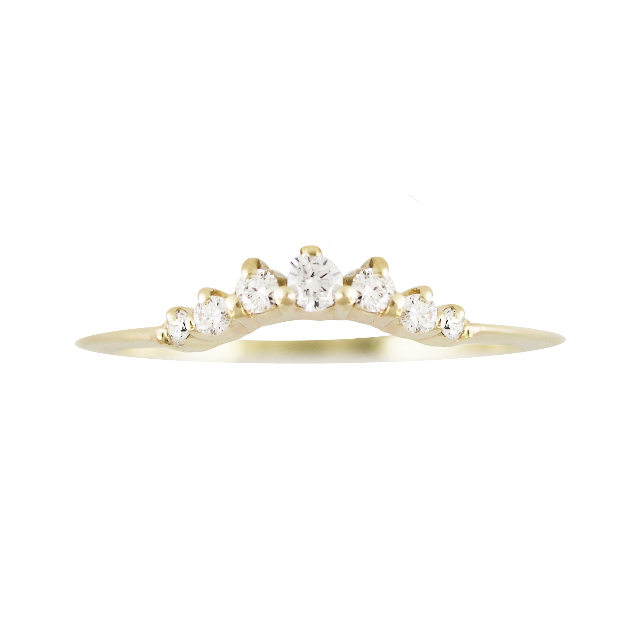 DIAMOND TIARA RING