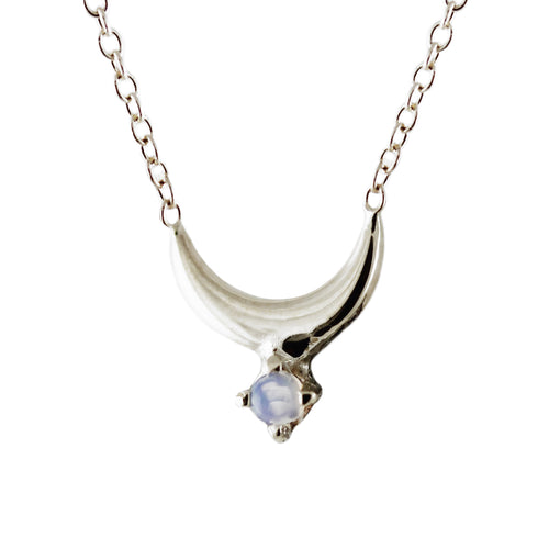 ECLIPSE LUNAR SILVER NECKLACE