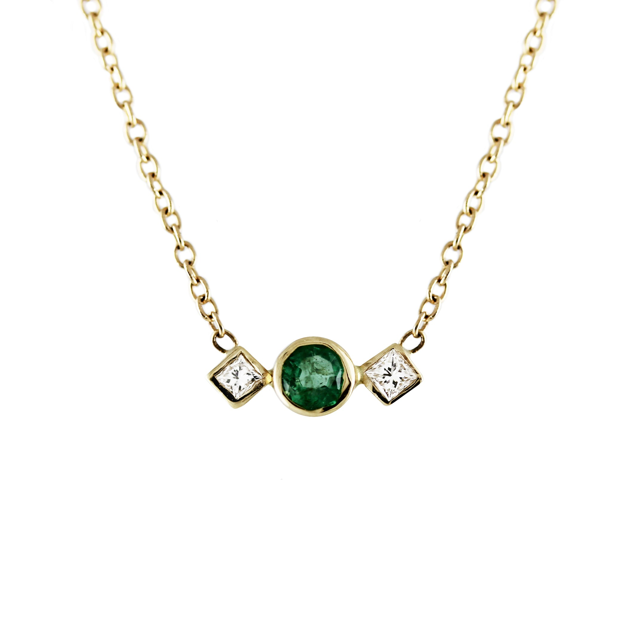 zambian variance inc small emerald necklace shop cheng a pendant