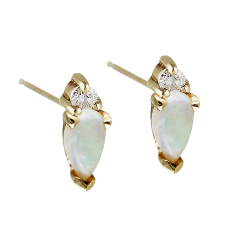 ARC WITH DIAMONDS STUDS