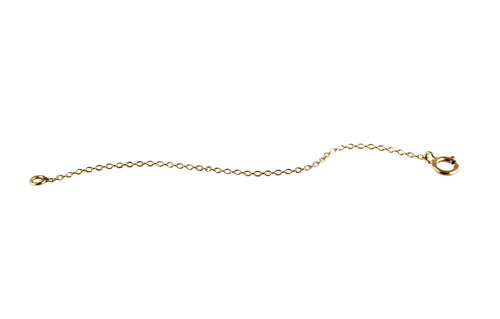 14K GOLD NECKLACE EXTENDER