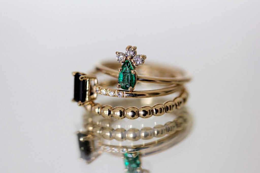 GRACE EMERALD RING