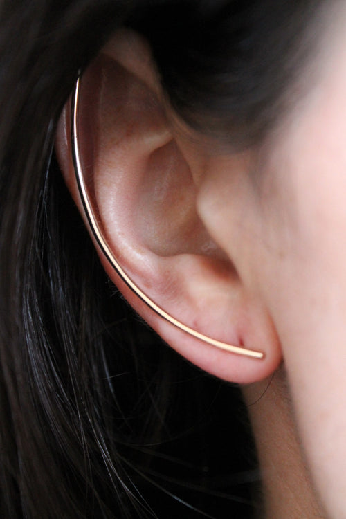 GOLD XL EARRING