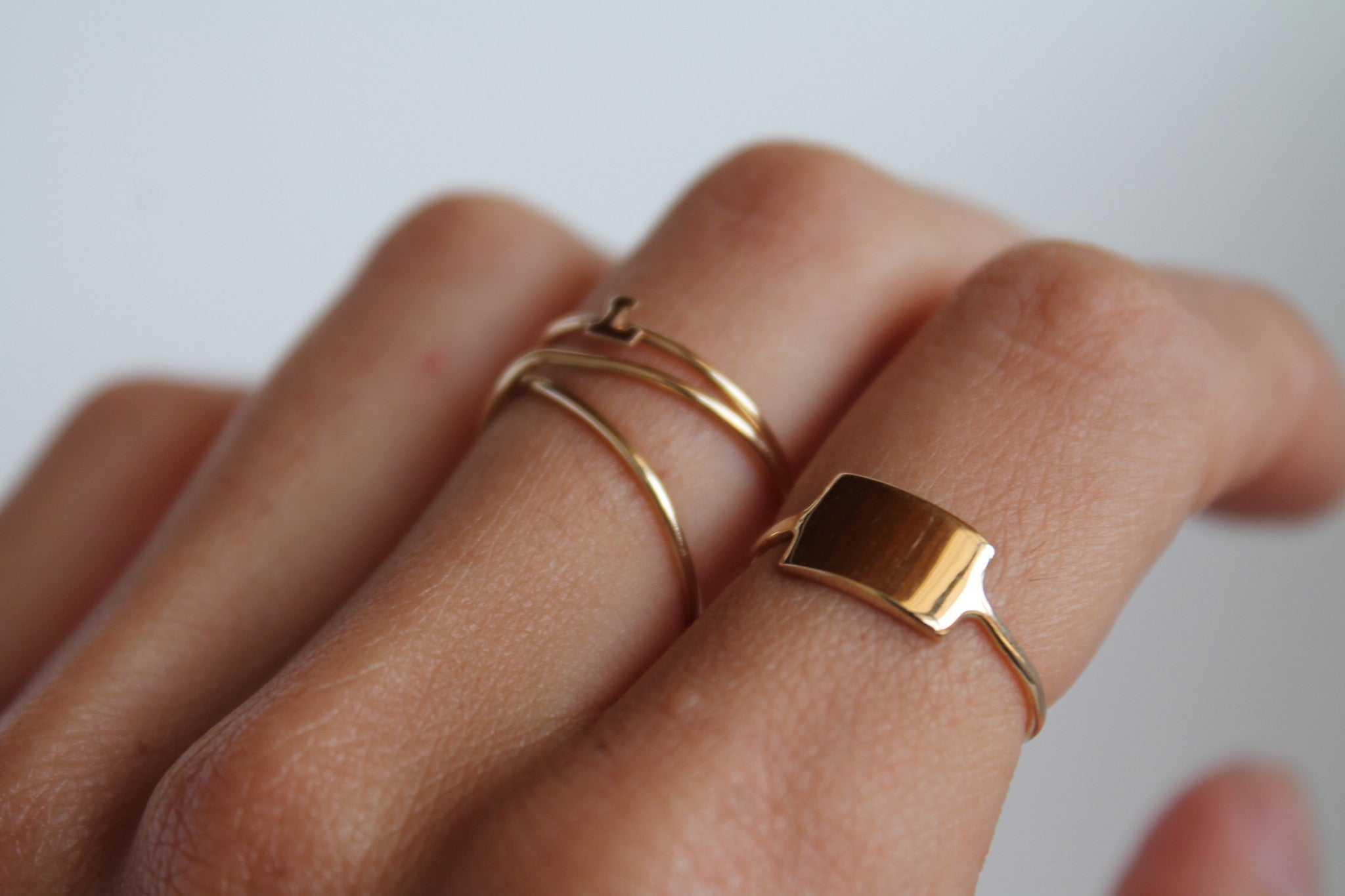 ID GOLD RING