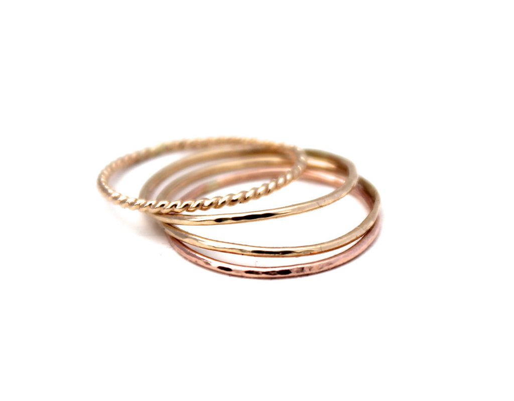 14K ROSE GOLD CLASSIC RING