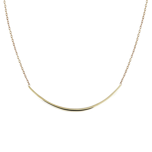 LONG ARC NECKLACE
