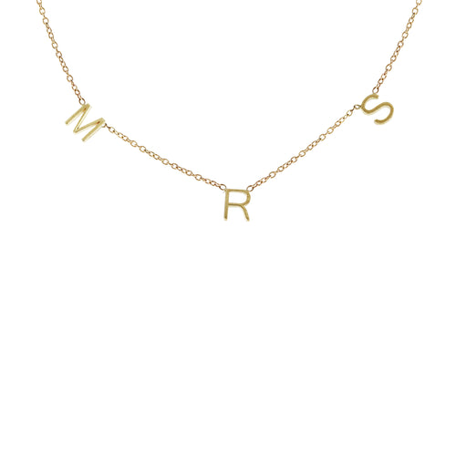 14K MRS NECKLACE