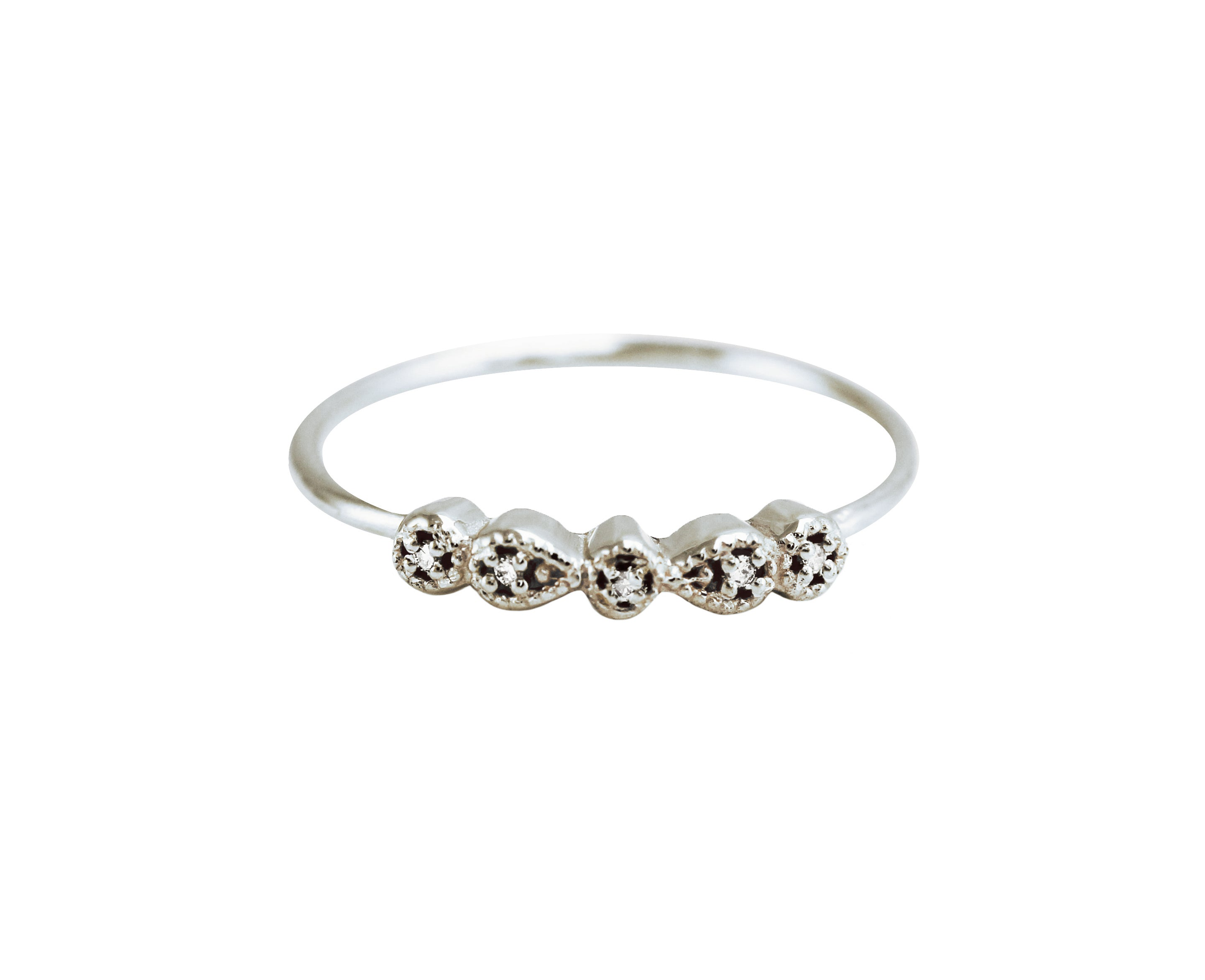 MINI ANTOINETTE DIAMOND RING