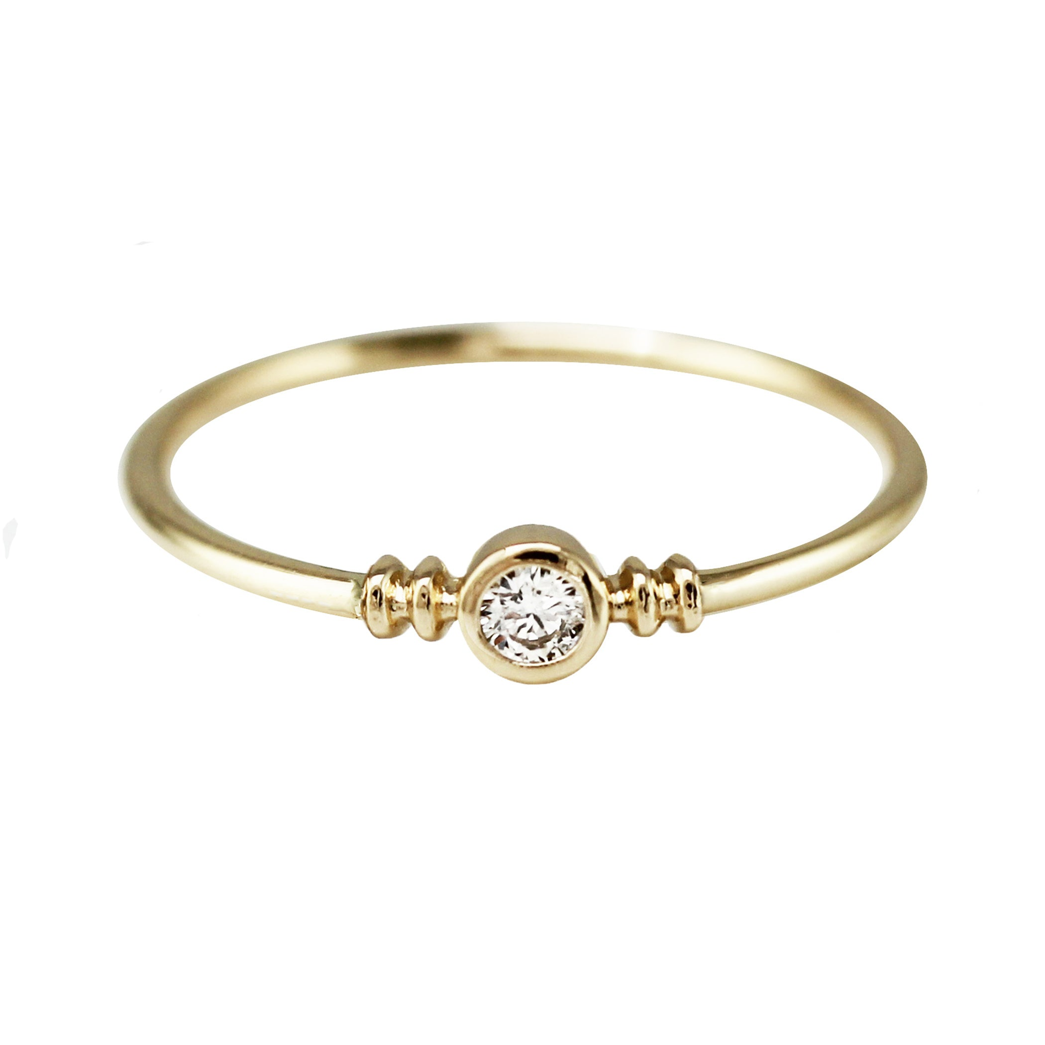 MINI TWIST DIAMOND RING