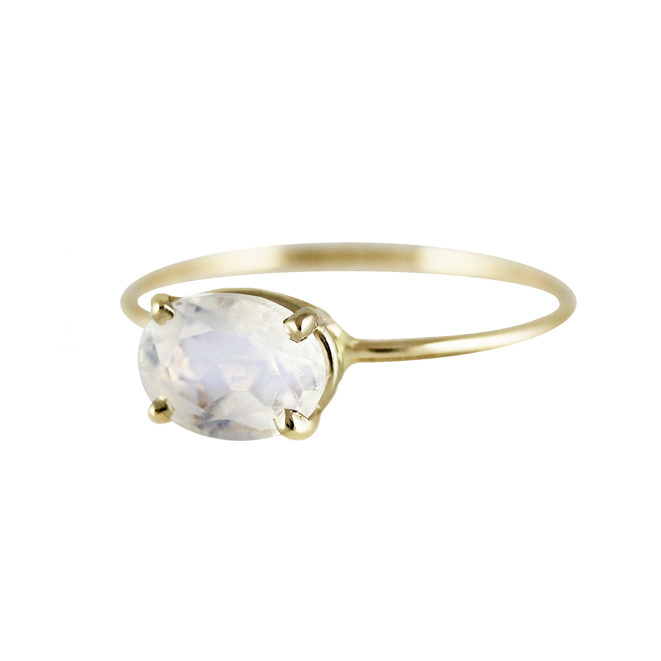 793e925ff0f7d OVAL FACETED RAINBOW MOONSTONE RING