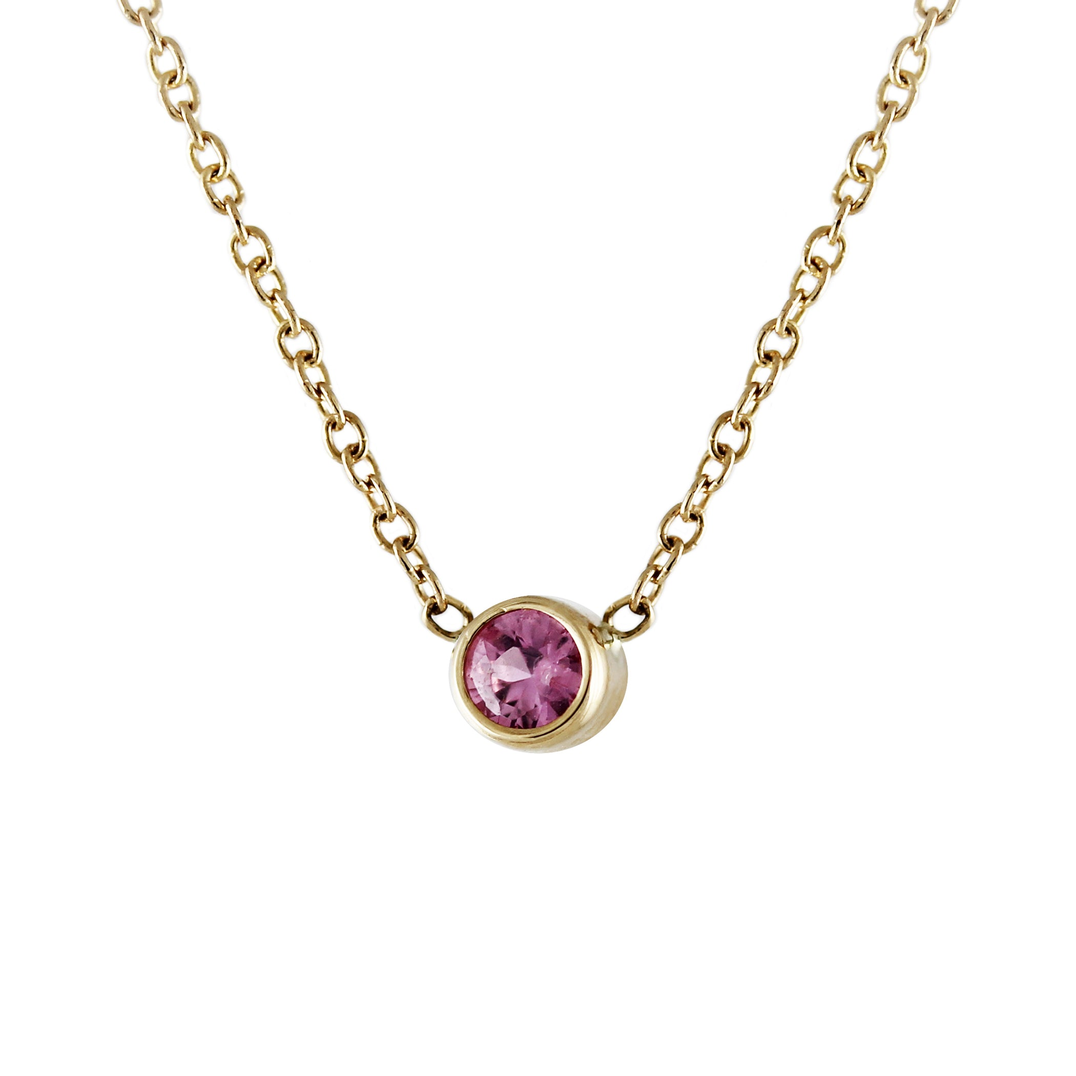 house of lato img teardrop ice pink necklace gold products
