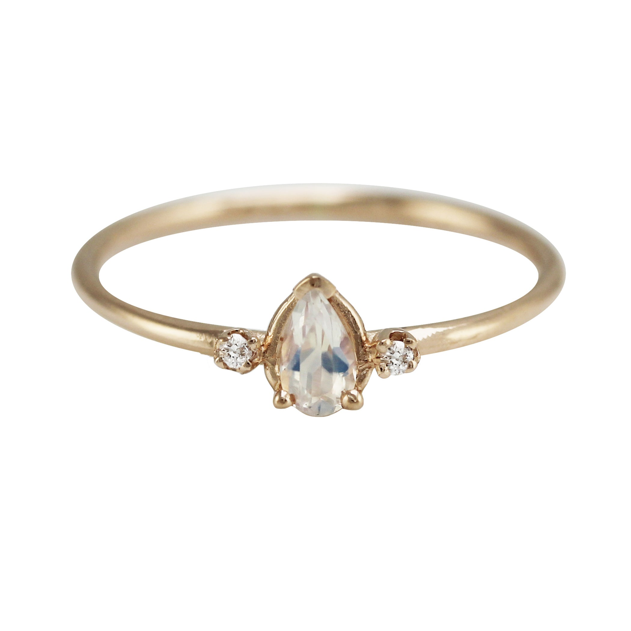 jewelry blossom bliss moonstone rings product ring